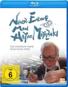 Never Ending Man: Hayao Miyazaki - Das unendliche Genie hinter Studio Ghibli (Blu-ray), Blu-ray Disc