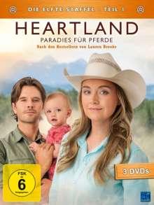 Heartland - Paradies für Pferde Staffel 11 Box 1, 3 DVDs
