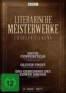 Literarische Meisterwerke: Charles Dickens, 5 DVDs