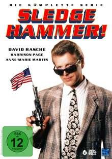 Sledge Hammer (Komplette Serie), 6 DVDs