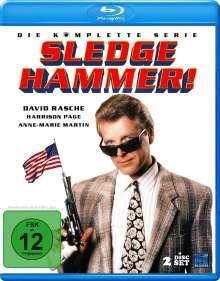 Sledge Hammer (Komplette Serie) (Blu-ray), 2 Blu-ray Discs