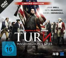 Turn - Washington's Spies (Limited Edition) (Komplette Serie), 16 DVDs
