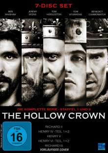 The Hollow Crown (Komplette Serie), 7 DVDs