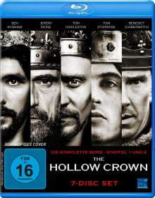 The Hollow Crown (Komplette Serie) (Blu-ray), 7 Blu-ray Discs