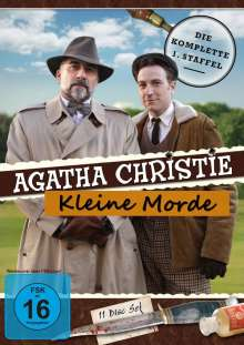 Agatha Christie - Kleine Morde (Komplette Serie), 11 DVDs