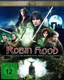Robin Hood (1984-1986) (Komplette Serie) (Blu-ray), 8 Blu-ray Discs