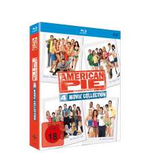 American Pie - 4 Movie Collection (Blu-ray im Digipack), 4 Blu-ray Discs