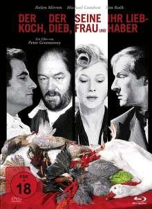 Der Koch, der Dieb, seine Frau und ihr Liebhaber (Blu-ray & DVD im Mediabook), 1 Blu-ray Disc und 1 DVD