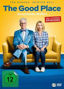 The Good Place Staffel 1, 4 DVDs