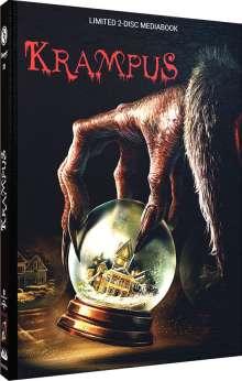 Krampus (Blu-ray & DVD im Mediabook), 1 Blu-ray Disc und 1 DVD