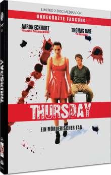 Thursday (Blu-ray & DVD im Mediabook), 1 Blu-ray Disc und 1 DVD