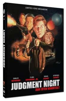Judgment Night (Blu-ray & DVD im Mediabook), 1 Blu-ray Disc und 1 DVD