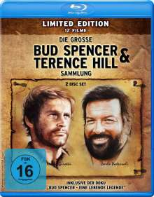 Die grosse Bud Spencer & Terence Hill Sammlung (12 Filme auf 2 Blu-rays), 2 Blu-ray Discs