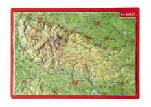 André Markgraf: Reliefpostkarte Harz, Buch