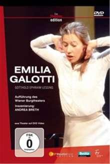 Emilia Galotti (2003), DVD