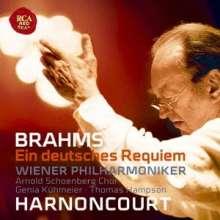 Johannes Brahms (1833-1897): Ein Deutsches Requiem op.45 (Blu-spec CD), CD