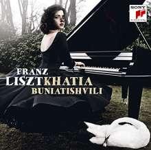 Franz Liszt (1811-1886): Klavierwerke (Blu-spec CD), CD