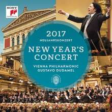 Neujahrskonzert 2017 der Wiener Philharmoniker, 2 CDs
