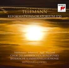 """Georg Philipp Telemann (1681-1767): Reformations-Oratorium 1755 """"Holder Friede, Heil'ger Glaube"""" TWV 13:18 (Blu-spec-CD), CD"""