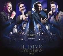 Il Divo: Live In Japan 2018 (Blu-Spec CD2) (Digipack), 2 CDs und 1 DVD