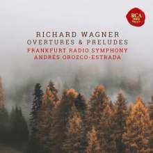 Richard Wagner (1813-1883): Ouvertüren & Vorspiele (Blue-spec CD), CD