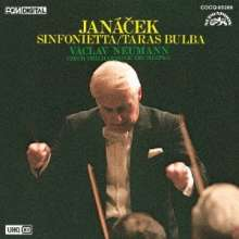 Leos Janacek (1854-1928): Sinfonietta (Ultra High Quality CD), CD