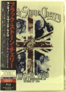Black Stone Cherry: Thank You: Livin' Live, Birmingham, UK, October, 30th 2014, 1 Blu-ray Disc und 2 CDs