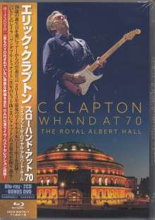 Eric Clapton: Slowhand At 70: Live At The Royal Albert Hall (Blu-ray + 2 CD + DVD), 1 Blu-ray Disc, 2 CDs und 1 DVD