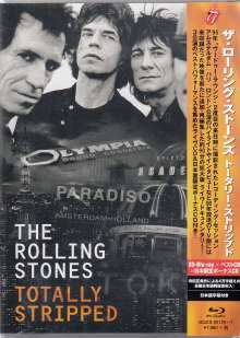 The Rolling Stones: Totally Stripped (SD Blu-ray + 2 CD), 1 Blu-ray Disc und 2 CDs