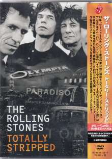 The Rolling Stones: Totally Stripped (Limited-Edition), 1 DVD und 2 CDs