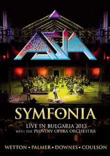 Asia: Symfonia: Live In Bulgaria 2013, Blu-ray Disc