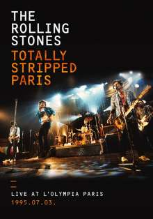 The Rolling Stones: Totally Stripped Paris: Live At L'Olympia Paris 1995.07.03  (SD Blu-ray + 2CD), 1 Blu-ray Disc und 2 CDs