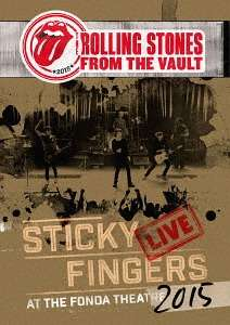 The Rolling Stones: From The Vault: Sticky Fingers – Live At The Fonda Theatre 2015, 1 CD und 1 Blu-ray Disc