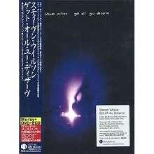 Steven Wilson: Get All You Deserve, 1 Blu-ray Disc, 1 DVD und 2 CDs