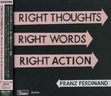 Franz Ferdinand: Right Thoughts Right Words Right Action, CD