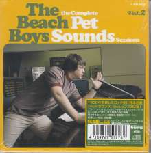 The Beach Boys: The Complete Pet Sounds Sessions Vol. 2 (Papersleeves im Schuber), 4 CDs