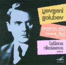 Evgeny Golubev (1910-1988): Klavierkonzert Nr.3, CD