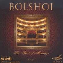 Bolshoi - The Best of Melodiya, 5 CDs