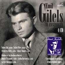 Emil Gilels in Ensembles, 4 CDs