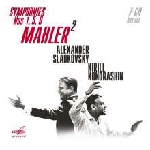 Gustav Mahler (1860-1911): Symphonien Nr.1,5,9, 7 CDs