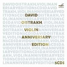 David Oistrach - Anniversary Edition, 5 CDs