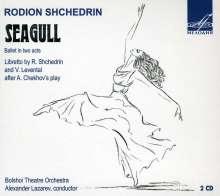 Rodion Schtschedrin (geb. 1932): Die Möwe (Ballettmusik komplett), 2 CDs