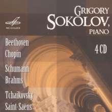 Grigory Sokolov, Klavier, 4 CDs