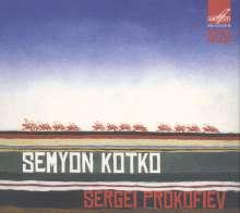 Serge Prokofieff (1891-1953): Semyon Kotko op.81, 3 CDs