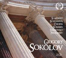 Grigory Sokolov, Klavier, 2 CDs