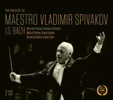 Johann Sebastian Bach (1685-1750): Klavierkonzert BWV 1052, 2 CDs