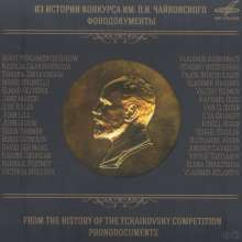 Tschaikowsky Competition - From the History of the Tschaikowsky Competition, 10 CDs