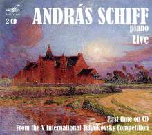 Andras Schiff - Live from the 5th International Tchaikovsky Competition 1974, 2 CDs
