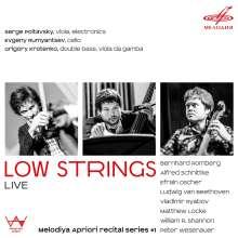 Low Strings - Live, CD