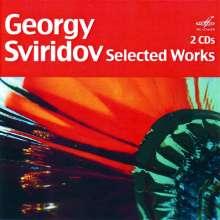 Georgi Sviridov (1915-1998): Orchesterwerke, 2 CDs